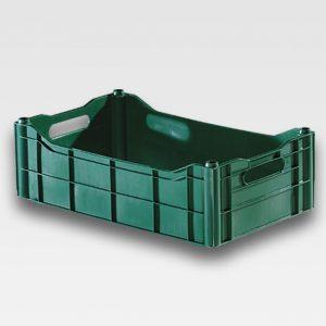 Caixa Plástica fechada hortifruti D16 F