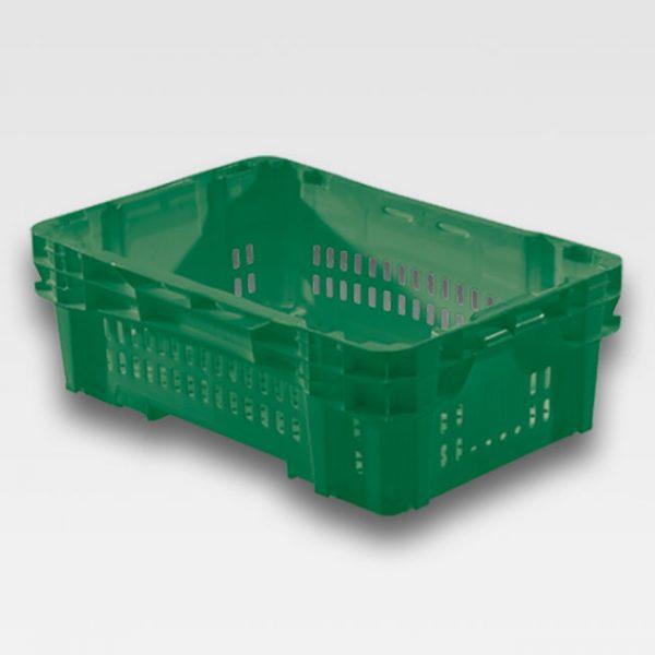 Caixa Plástica Vazada para Hortifruti CN 31,5