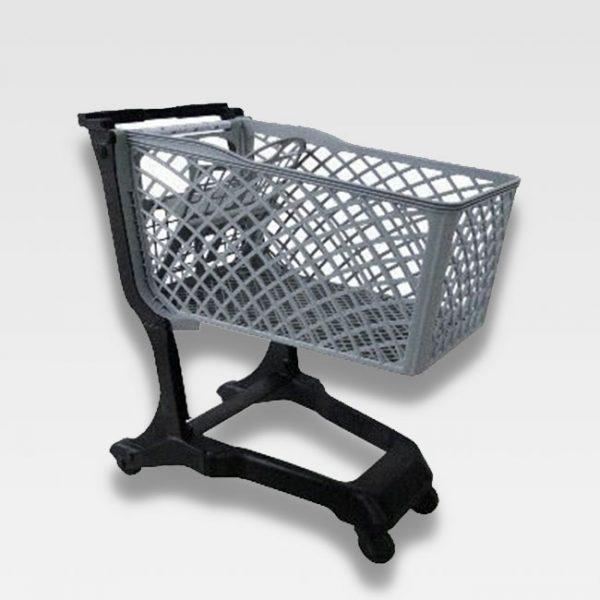 carrinho plástico crr 120 litros