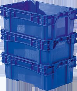 Caixa Plástica Fechada para Indústrias CN 39 F