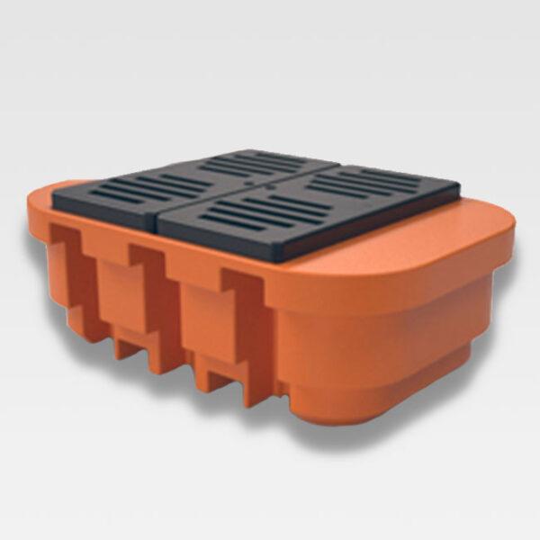 Pallet Plástico de Contenção para IBC