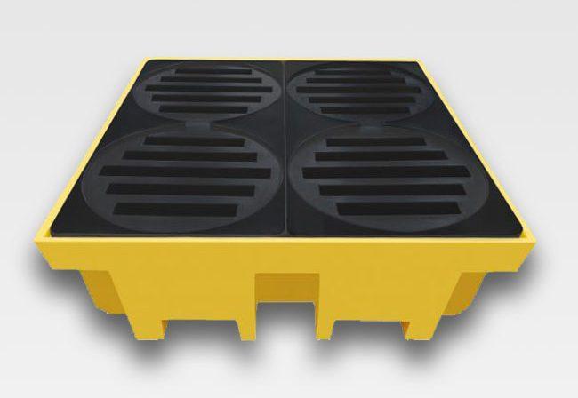 pallet de contenção 4t 420l